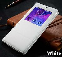 Чехол смарт для Samsung Galaxy Note 4 N9100 белый