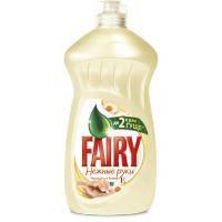 Средство для мытья посуды Fairy Нежные руки Ромашка и Витамин Е 500 мл (5413149477728)