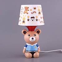 Светильник детский декоративный настольный высота 32 см 39-222