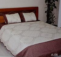 Стеганое покрывало на диван Евро размера East Comfort