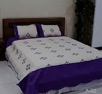 Покрывало стёганое на кровать (диван) Евро размер East Comfort