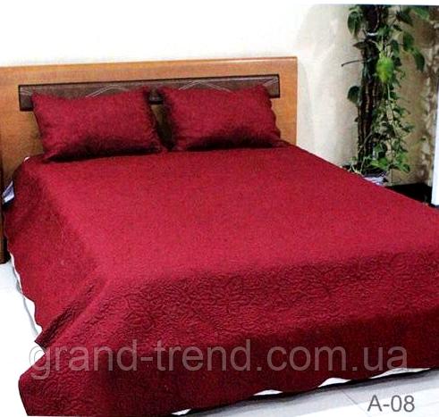 Покрывало стеганое размера Евро East Comfort бордового цвета - интернет  магазин GRAND-TREND в Хмельницком 3f2af23338e9f