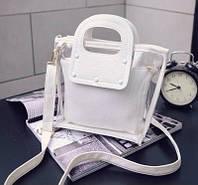 Женская мини-сумочка с косметичкой