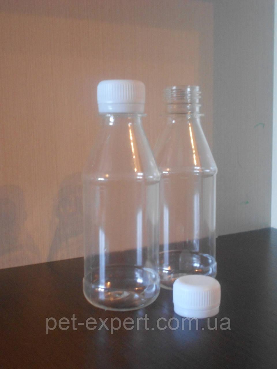 """Пластиковая пэт бутылка 180 мл """"техническая жидкость"""""""