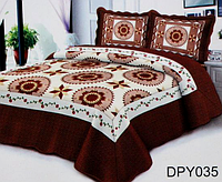 Покрывало с наволочками на диван или кровать Евро размера East Comfort