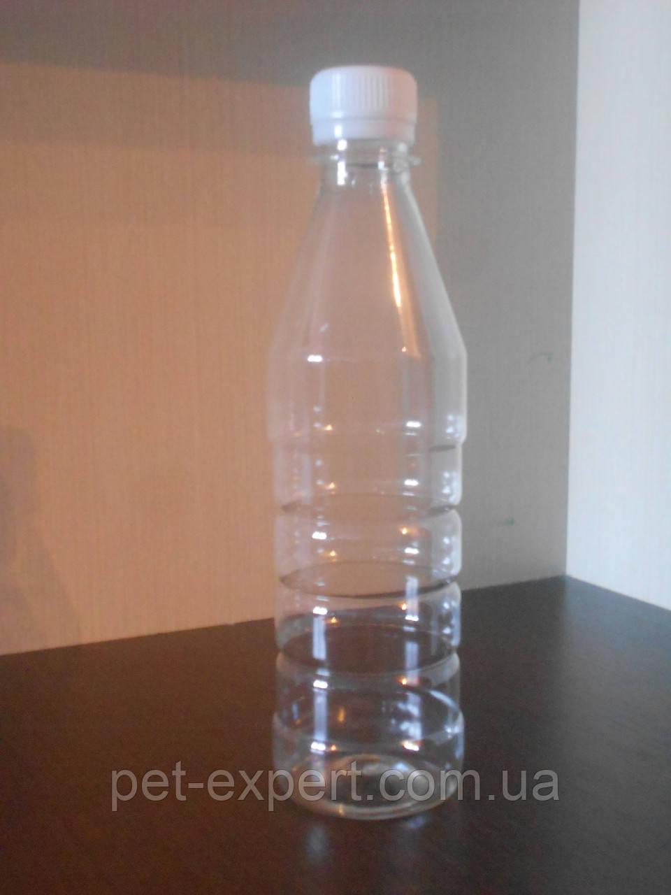 """Пластикова пет пляшка 350 мл """"технічна рідина"""""""