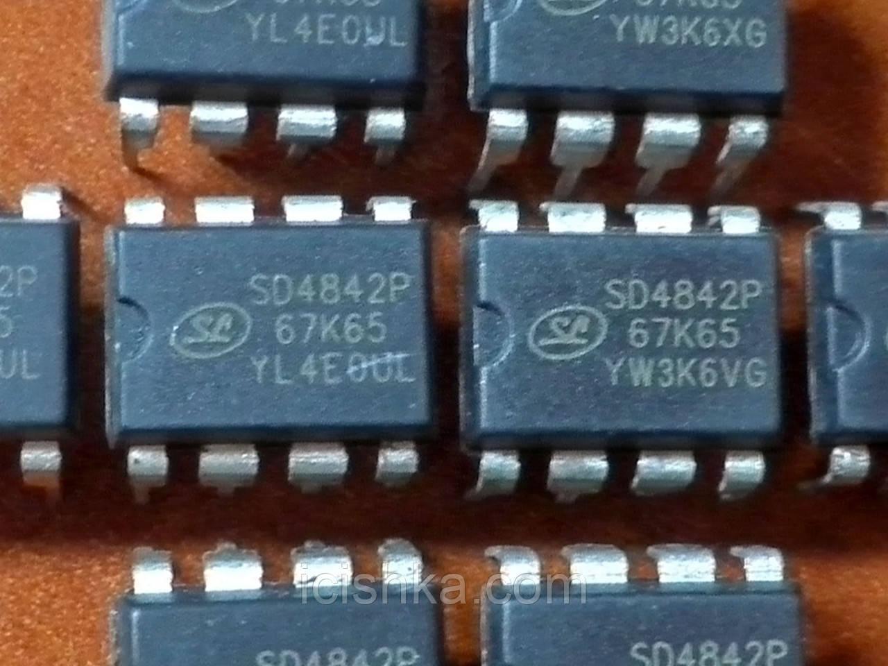 SD4842P DIP8 - ШИМ контроллер для ИБП
