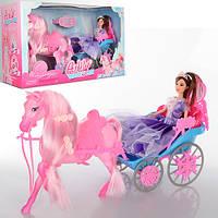 Карета для куклы Барби с лошадкой 201531-2