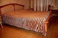 """Качественное покрывало на кровать или диван норка Евро """"East Comfort"""""""