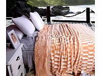 Качественное покрывало на кровать или диван норка Евро стандарт East Comfort