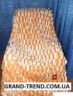Покрывало меховое норка Евро размера East Comfort окрас персик