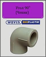 Угол 25х90° полипропиленовый Wavin Ekoplastik, фото 1