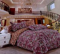 Красивое полуторное постельное бельё комплект East Comfort