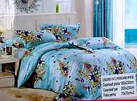 5D Комплект сатинового двуспального постельного белья Lenjerie De Pat
