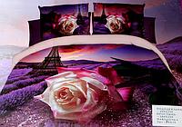 5D Комплект красивого постельного белья Евро размера Lenjerie De Pat
