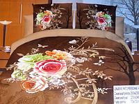 5D Комплект постельного белья из сатина Евро размера Lenjerie De Pat