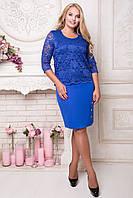 Платье вечернее больших размеров Стефания р 52,54,56,58,60,62