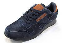 Кроссовки мужские Reebok Classic Leather замшевые 8464a2ac05fcd