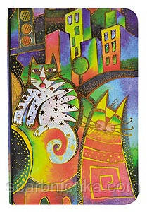 """Блокнот """"YES"""" на резинке """"City Cats"""" 150897 80л (90*140), фото 2"""