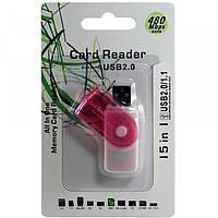 Card-reader 15in1 (480Mbps)