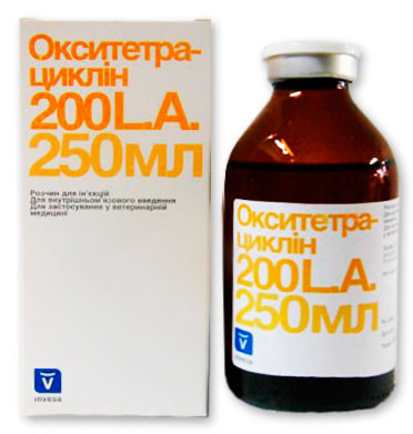 Окситетрациклин - 200  250 мл INVESA Испания