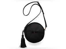 Дамська сумочка Black bag circle
