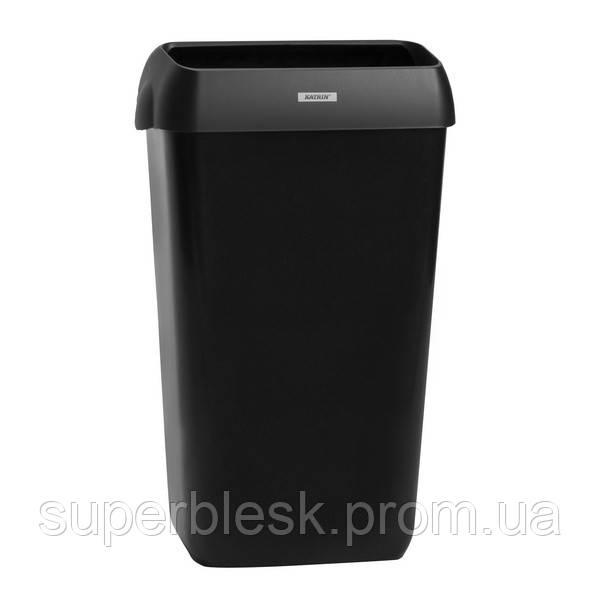 Katrin корзина для использованных полотенец 25 л, чёрная