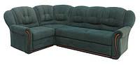 """Раскладной кожаный угловой диван  """"Бутон"""". (270*185 см)"""