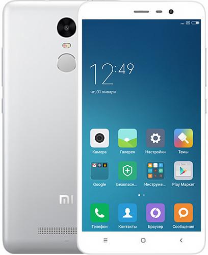 Смартфон Xiaomi Redmi Note 4 16Gb Silver *