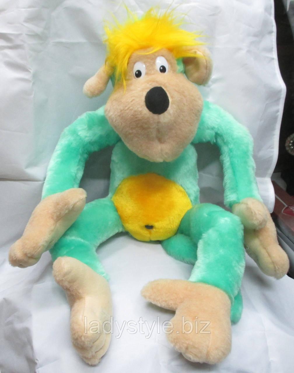 Салатовая обезьянка