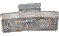 Грузик набивной для легкосплавных дисков 30 г