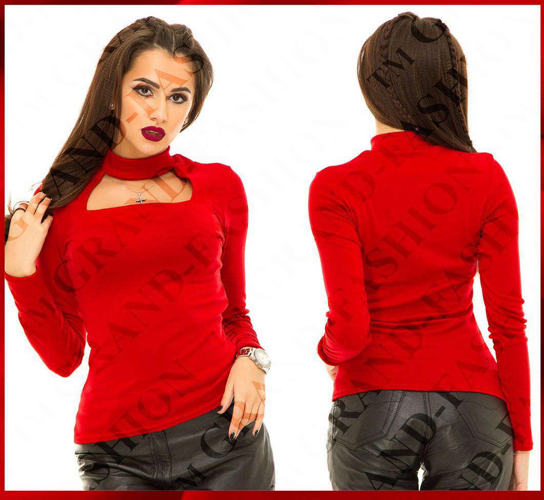 """Гольфик """"Missi"""" (модель 004) цвет красный"""