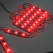 Светодиодный модуль Biom SMD5730-3*0.5W, красный свет с линзой, IP65 М2