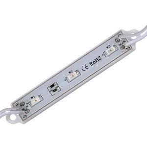 Светодиодный модуль Biom SMD5630-3*1.2W, красный свет с линзой, IP65 М2, фото 2