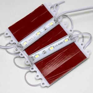 Светодиодный модуль BRT 5630-3 led WW 1,5W 3000K, 12В, IP65 теплый белый М1, фото 2