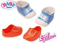 Ботинки для куклы Zapf Creation Baby Born 2 пары 822159, фото 1