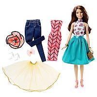Кукла Барби Barbie Модный Калейдоскоп брюнетка