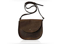 Bag brown Saddle шкіряна сумка - сідло
