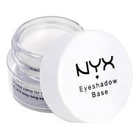 NYX ESB01 Eyeshadow Base White - База под тени, 7 г