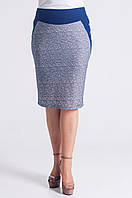 Нарядная женская юбка серого цвета