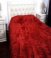 """Меховое покрывало на кровать Евро размера """"East Comfort"""""""