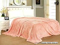 """Меховое покрывало на кровать """"East Comfort"""" - Евро размер"""