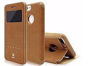 Кожаный флип-чехол Baseus Terse Series для iPhone 7 Brown