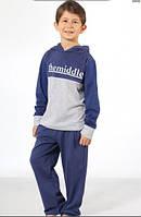 Пижама, домашний комплект для мальчика 6-11 лет