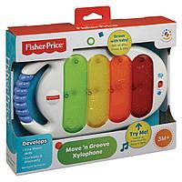 Музыкальная развивающая игрушка - «Ксилофон» Fisher Price, BLT38, фото 1