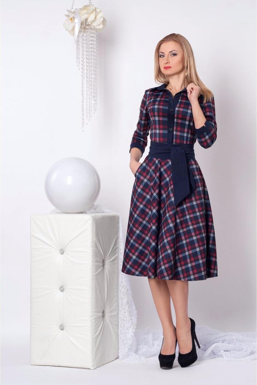 Очаровательное платье из итальянского трикотажа АЛЕКС - Оптово - розничный магазин  одежды