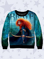 """Детский свитшот с 3D изображением """"Brave"""""""