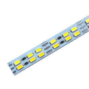 Светодиодная линейка JL 5730-144 led W/WW 3-pin 3500K-6500K, 12В, IP20 теплый белый/белый