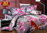 """Комплект постельного белья 100%хлопок,ткань ранфорс тм TAG""""Японский сад"""""""