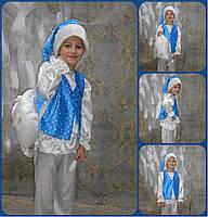 Карнавальный костюмморозко, зиний месяц, зимний эльф, снег, снежок прокат Киев